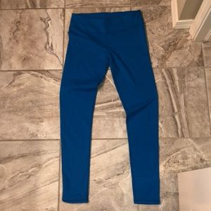 Fabletics tights TEAL blue.